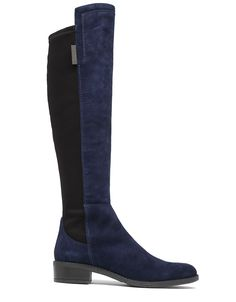 Jamirah Suede Over-the-knee Boots in Midnight/Black [side] (Vince Camuto)