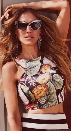Sarah Jessica Parker for Maria Valentina 2014  .//. OMG YES