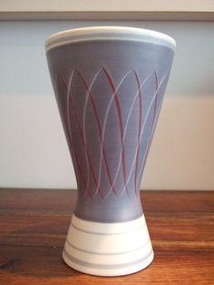 Classic vintage Poole pottery freeform