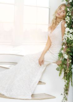 Bridal Gowns, Wedding Dresses by Ti Adora - Style 7407
