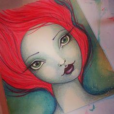 Make Art & Live Happy: Whimsical Portraits Workshop
