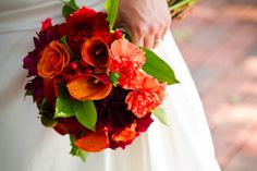Beautiful fall bouquet! :)  Photo by Sincerely, Liz: Photography.