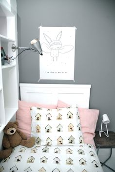 Such a cute and lovely girl bedroom!