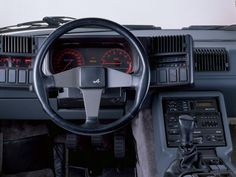 1985–91 Dashboard Renault Alpine GTA V6 GT