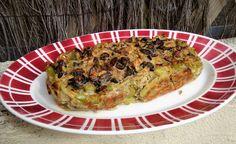 Les plaisirs de Carlie: Clafoutis fenouil, olives et citron confit