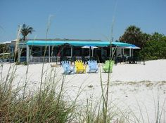 South Beach Bar & Grille, Boca Grande, FL.  Best grouper sandwich and key lime pie in the world.