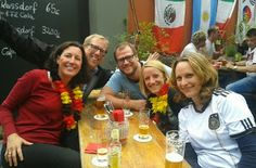 Saskia from HR watches together with her TÜV Rheinland buddys #GERGHA  #selfiesworldwide  #fifaworldcup2014