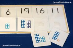 Share: Extending understanding of number past 20 with this numicon matching game. It looks very similar to the previous game… more →
