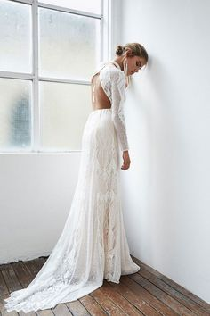 BLANC by Grace Loves Lace Wedding Dress Collection | Bridal Musings Wedding Blog 25