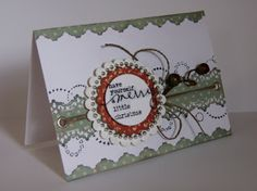 Lou Collins - Pretty Paper and Chipboard Stories: A few cards...