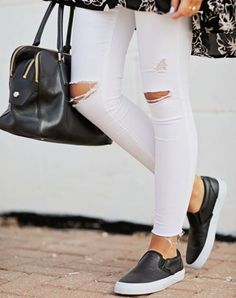 Casual outfits ideas with slip on shoes - Just Trendy Girls (@JustTrendyGirl) | Twitter