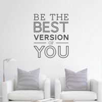 Be the best Wall Decal