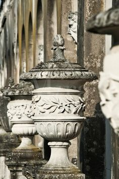 Antique urns