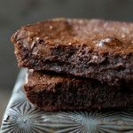 The Best Fudgy Brownies (Grain-Free, Paleo, Gluten Free) sub 4 tbsp coconut oil for the butter