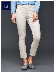 Skinny cropped pants