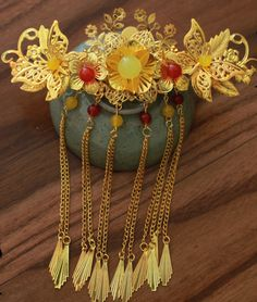 Chinese Traditional Phoenix Coronet for Brides