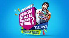 Promoção Mentos on Behance Creative Banners, Creative Posters, Social Media Banner, Social Media Design, Creative Advertising, Advertising Design, Branding Design, Logo Design, Packaging Design
