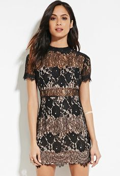 Lace Sheath Dress | Forever 21 - 2000168138