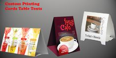 Card Table Tents - 4 New Reasons to Choose Them Table Tents, Packaging Boxes, Table Cards, Custom Cards, Printing, Personalized Cards, Personalised Cards, Place Card