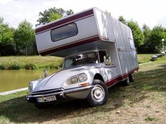 CITROEN DS 21 IE Camping-car Bindet 1970 Pièce unique! Hallucinant camping-car réalisé par un artisan carrossier de la Manche. Cette auto fut réalisée sur une base de Citroen DS 21 IE de l'année 1970.… - Eve - 27/06/2015