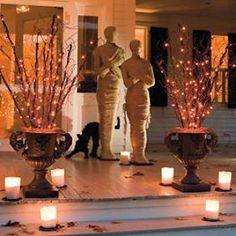 Halloween decorations : IDEAS &  INSPIRATIONS  Grandin Road-Halloween Decorating
