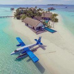 Hidroavion în Insulele Maldive