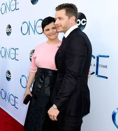 Ginnifer Goodwin and Josh Dallas attended the season premiere of 'Once Upon A Time' in LA on Sept.21,2014