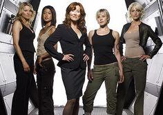 The Ladies of Battlestar Galactica.