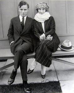 Charlie Chaplin & Anna Pavlova, 1922