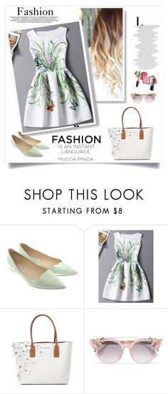 """""""One Dress One Mood"""" by sneakyartsit ❤ liked on Polyvore featuring Jimmy Choo and Marc Jacobs"""