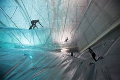 On Space Time Foam by Tomàs Saraceno