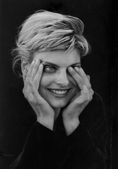 ☆ Linda Evangelista | Photography by Peter Lindbergh | For Jil Sander Campaign | Fall 1994 ☆