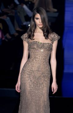 Elie Saab at Couture Fall 2005 - StyleBistro