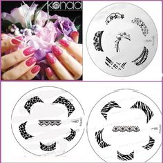 bundle 5 items: Konad New images plate M87,M88,M80  stamper and scraper  A-viva eco Nail file >>> More info could be found at the image url.