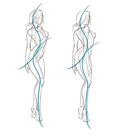 Drawing the human figure #female #body #woman