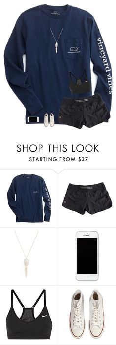 """""""Excited 4 This Weekend🙌🏻👌🏻"""" by allison-in-wonderland ❤ liked on Polyvore featuring lululemon, Kendra Scott, NIKE and Converse"""