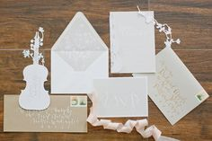 erica loesing invitation suite//photo jeremy harwell
