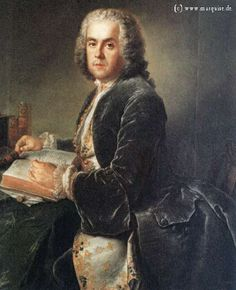 Charles Etienne Jordan by Pesne, c.1738  Reader to King Frederick the Grea