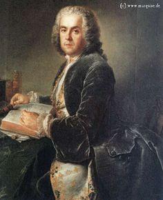 Charles Etienne Jordan by Pesne, c.1738  Reader to King Frederick the Grea