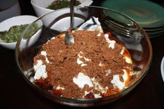Lovely and delicious Kaddo Bourani -- a pumpkin, beef, and yogurt recipe from Afghanistan.  Did I say delicious yet?
