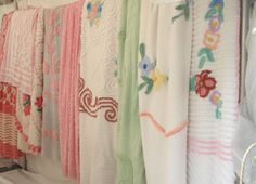 old chenille bedspreads