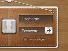 Dribbble - Login by Meng To