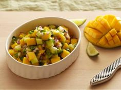Vemma Diet Mango Salsa: mango, cherry tomatoes, roasted red bell pepper, cilantro bunch, cucumber, red onion, olive oil, salt, pepper ~serve over Lemon Pepper Cod and Spring Mix Salad www.VegasFitClub.com