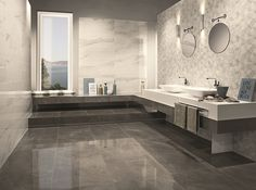 #sensi_trdng offers this amazing marble looking collection that would definitely add a touch of class to any bathroom.