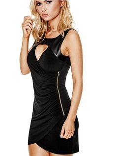 Aiden Sleeveless Dress at Guess