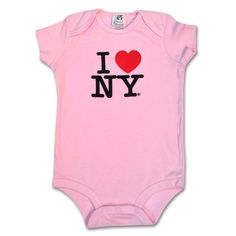 Onsies are the part of our bestselling Babies Clothing collection with famous I Love NY logo. Bodysuits Made from high quality 100 % soft cotton, design screen printed in front. Fully licensed. Sha…