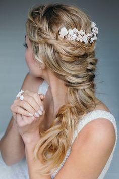 Brautfrisuren für lange Haare H&M: La Chia Fotos: Tanja Wesel