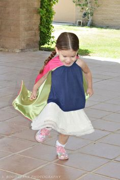 Superhero Toddler Cape by littleshepsters #Kids #Capes #littleshepsters