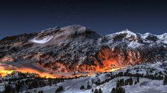 Fire in Ice HDR by ~evrengunturkun on deviantART