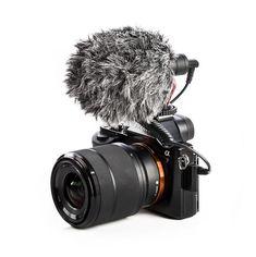 Soporte para c/ámara de Fotos con Soporte Rycote Lyre para micr/ófono Rode VideoMicro VideoMic Me Sinnper